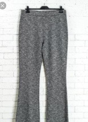 Фирменная, трикотажные ,меланжевые брюки.