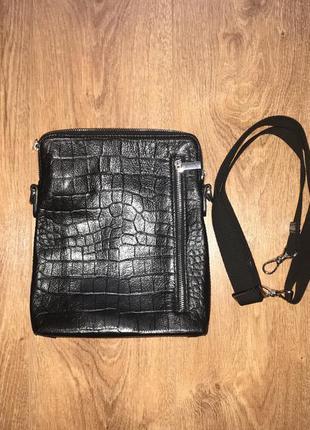 c0cf18de543f Кожаная мужская сумка vif новая!, цена - 550 грн, #10569388, купить ...