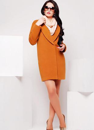 Пальто оверсайз xwoyz , размер 44