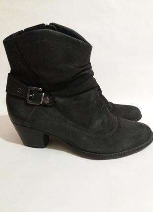 Ботинки кожаные tamaris размер 36