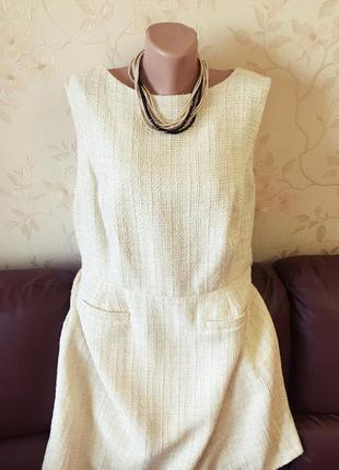 ... Плотное платье футляр от f f в стиле coco chanel (uk20 - наш 52 54 ... b2b6b30d74e