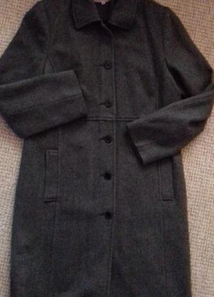 Пальто в класичномму стилі шерсть s.oliver s.oliver