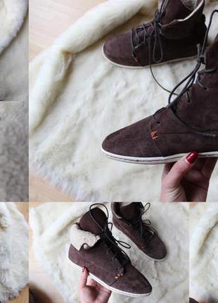 Зимние кроссовки ботинки hub