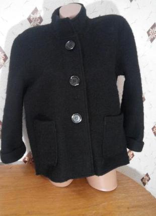 Куртка жакет, полупальто из шерсти р 14- 16