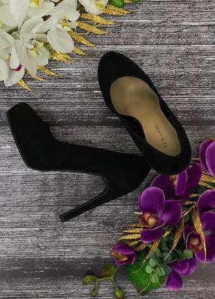 Базовые туфли на высоком каблуке new look   sh180832