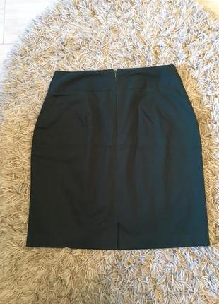 Только до 20.12! темно - зелёная изумрудная бутылочная узкая юбка (бесплатная доставка)3