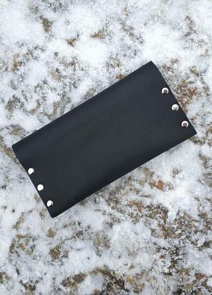 Кошелек ручной работы из натуральной кожи гаманець з шкіри натуральної
