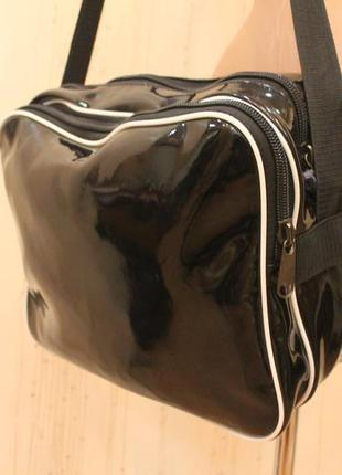 Сумка, сумка спортивная, лаковая сумка3 фото