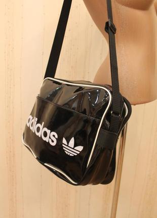 Сумка, сумка спортивная, лаковая сумка4 фото
