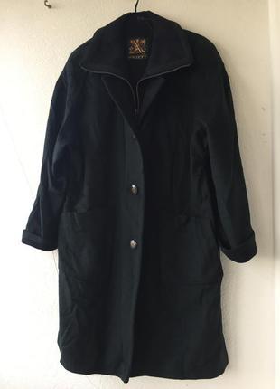 """Эксклюзивное винтажное изумрудное пальто шерсть альпака «aquila alpaca loden """" германия"""