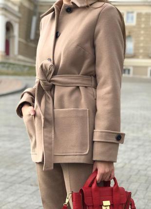Укороченое пальто anna yakovenko