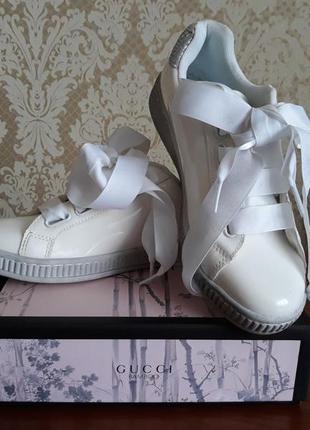 Graceland красивенные лаковые фирменные туфли -лоферы броги оксфорды