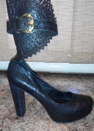 Туфельки итальянские с перфорацией