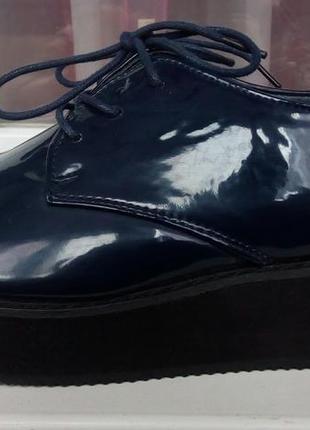 Стильные новые ботинки на платформе ichi.