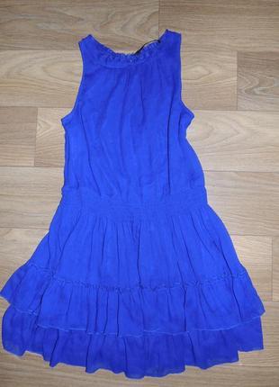 Классное платье синего цвета!!