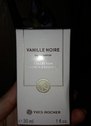 Vanille noire парфюмированная вода 30мл