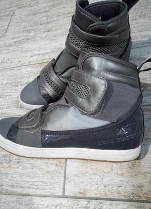Сумасшедшие милитари кеды от adidas by stella mccartney