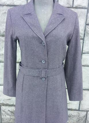 Фіолетовий класичний кардіган, легеньке пальто
