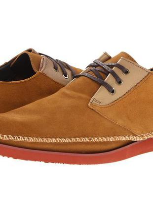 Замшевые брендовые туфли deep stags р. 43,5 44