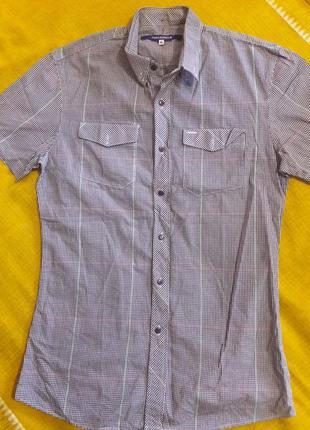 Рубашка 100% хлопок  р.s
