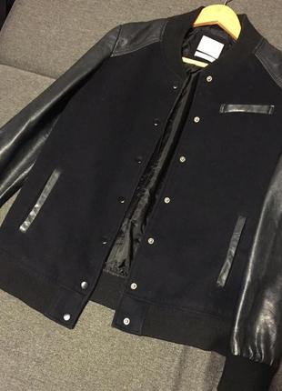 Куртка косуха кожанка бомбер