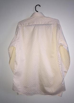 Мужская рубашка с манжетами под запонки