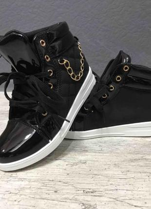 ❤️акция ❤️лаковые ботинки