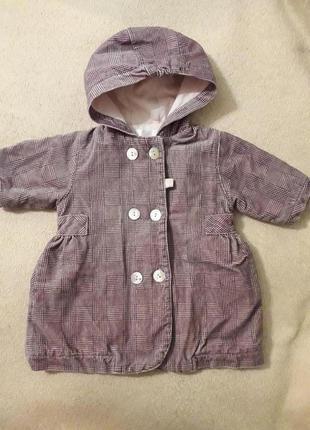 Пальто, куртка на новорожденную девочку
