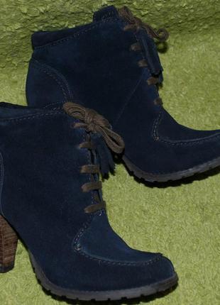 Замшевые ботинки  limited collection