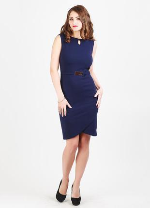 Новинка!!! деловое платье с украшением!!! есть ддругие цвета:)