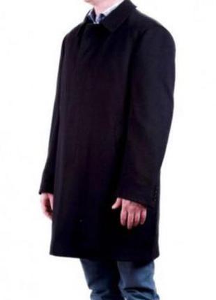 Классическое шерстяное мужское пальто kuper premium 54 размер