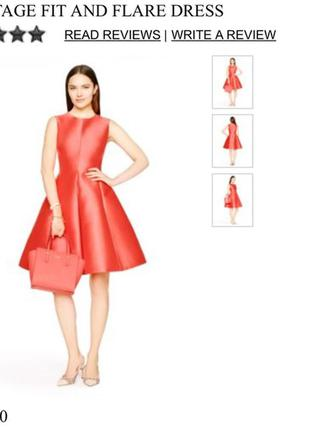Kate spade new york classic fit&flare dress us 6