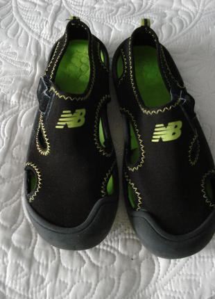 Круизные сандали, аквашузы new balance us2 eu 33