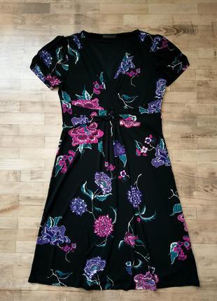 Платье в цветы marks & spencer