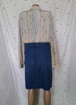 Стильная блуза в полоску р ххл2