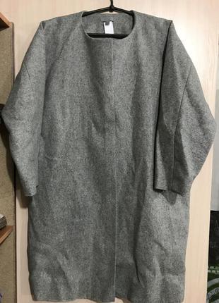 Безупречное пальто кокон cos eu44,us 14,l-xl!