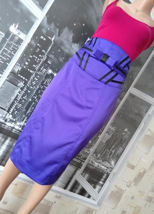 Ефектная юбка миди с завышенной талией!