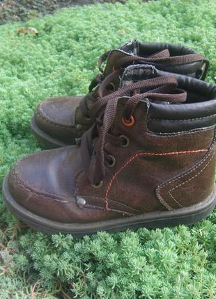Демисезонные ботинки, натуральная кожа