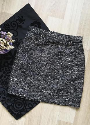Юбка h&m, спідниця міні, юбка мини
