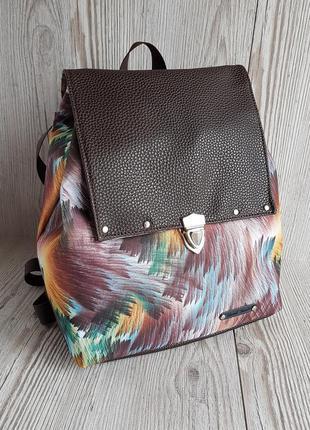 Небольшой рюкзак в коричневых оттенках