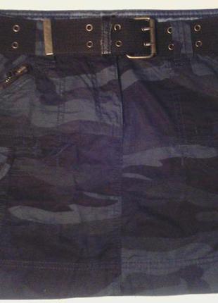 Юбка военный (защитный) принт