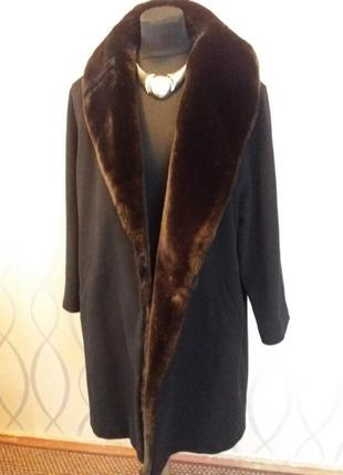 Качественное шерстяное пальто marks&spencer р.xxl-3xl.много вещей больших размеров.