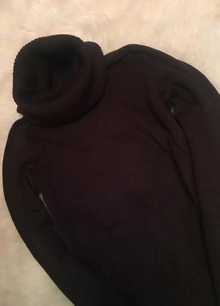 Гольфик фирменный темно коричневый