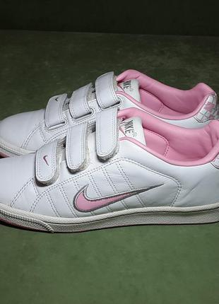 Кожаные кроссовки nike 39 р. оригинал