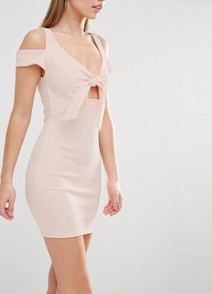 Oh my love нежное платье цвета пудры