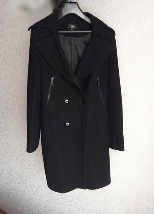 Пальто классика черное
