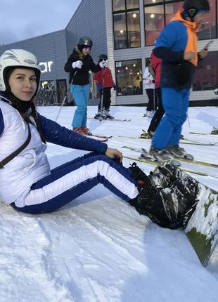 Тёплый лыжный костюм