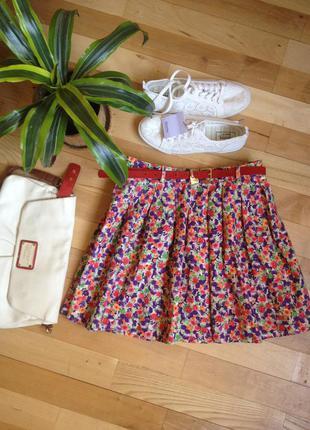 Крутая юбка bershka. как новая!