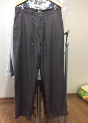 Malo брюки штаны италия лён 52-54 р