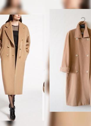 Пальто max mara оригинал 100% шерсть